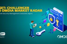 ESET- Challenger in Omdia Market Radar
