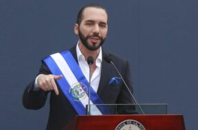 President Nayib Bukele of El Salvador
