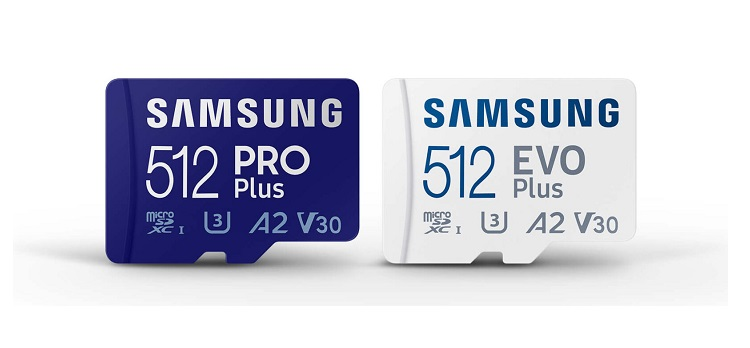 Samsung unveils new PRO Plus and EVO Plus MicroSD Cards