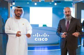 Mohammad Alhashmi, Chief Technology Officer at Expo 2020 Dubai and Shukri Eid, Managing Director, Cisco Gulf Region